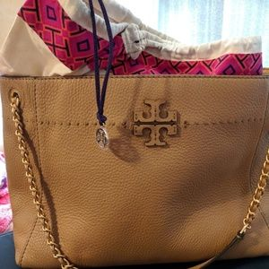 Tory Burch McGraw Chain Slouchy Tote